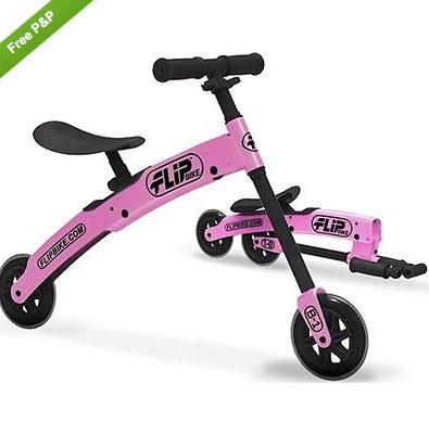 Flip Balance Bike £22 (Was £70) @ eBay