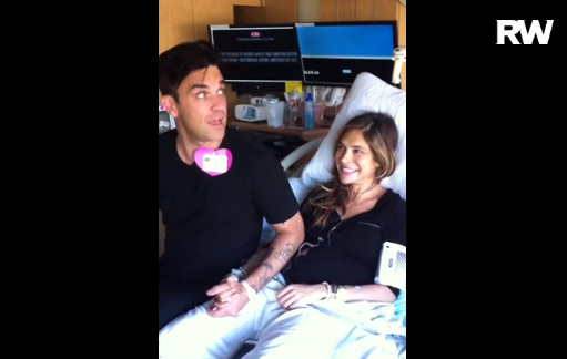Robbie Williams And Ayda Field Announce Their Baby Boy's Name