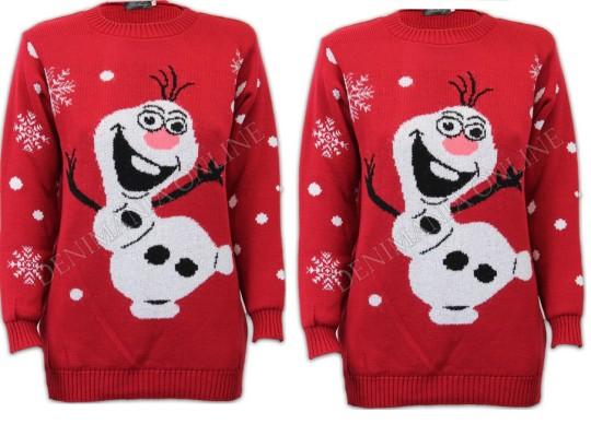Olaf Jumper For Adults £8.89 Delivered @ Denimaniaonline eBay