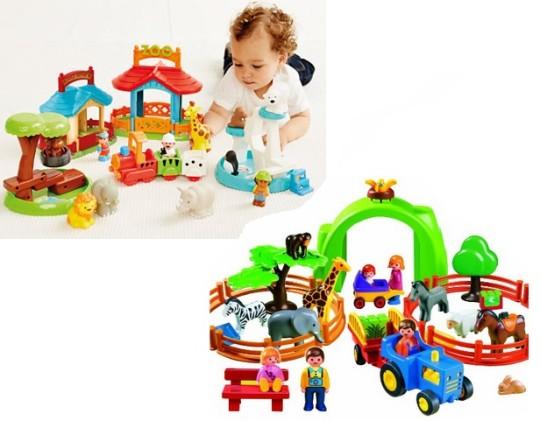 Playmobil Zoo £20 @ Amazon Or Happyland Zoo £35 @ ELC