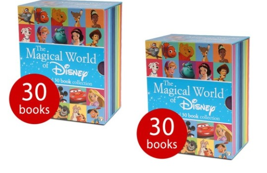 The Magical World of Disney Collection - 30 Book Slipcase £15.38 Delivered @ The Book People