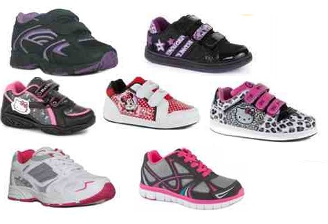 Girl's Trainers From £4.99 Delivered @ Shoe Zone