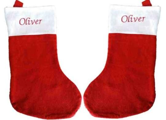 Personalised Santa Stocking £2.48 Delivered @ eytech.ltd eBay