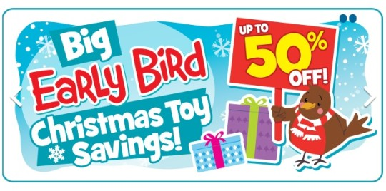 Up To 50% Off Toys @ The Entertainer