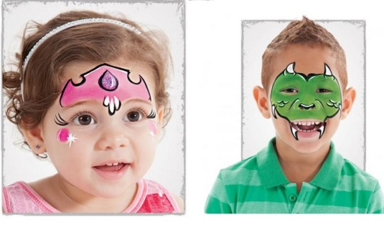 10 Easy Step By Step Face Painting Idea