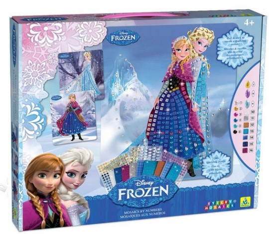 Sticky Mosaics Disney Frozen Anna And Elsa With Jewels £13.23 @ Amazon