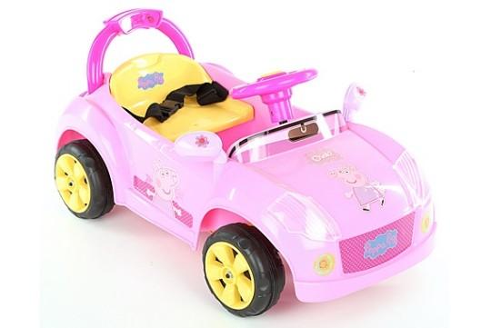 Peppa Pig 6V Electric Ride On Car £45 Delivered @  Halfords