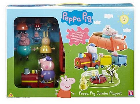 Peppa Pig On The Go Playset £20 @ ASDA