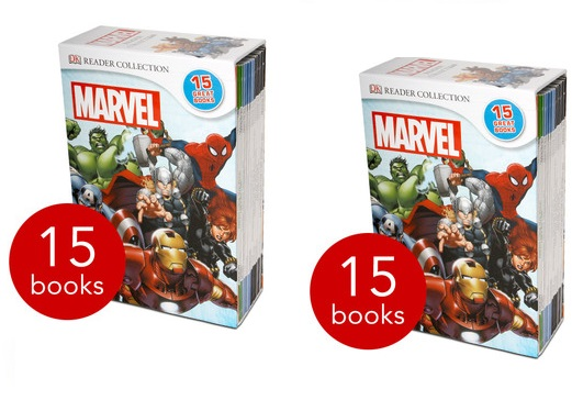 Marvel Readers Collection 15-Book Slipcase £14.99 Delivered @ The Book People
