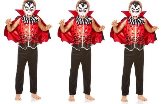 Halloween Dracula Dress-Up Costume £3 @ F&F