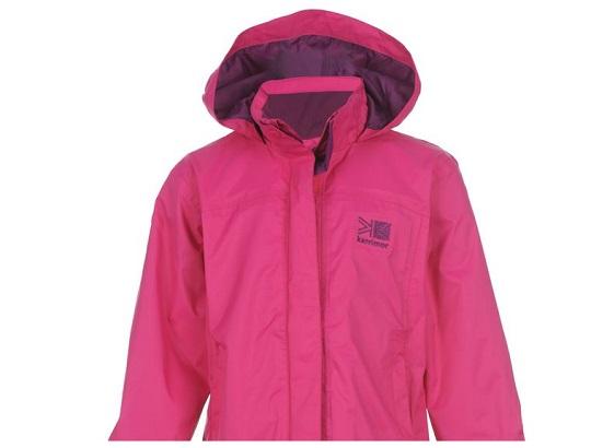 Kids Karrimor Sierra Jackets Pink £6.99/£10.98 Delivered @ Sports Direct