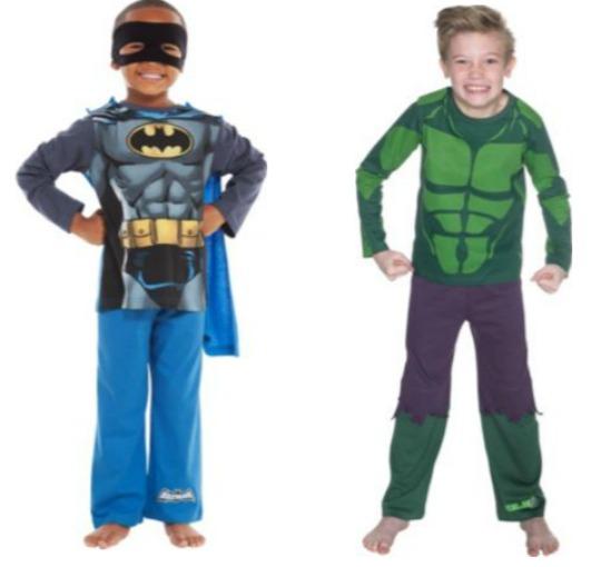 The Hulk & Batman Novelty Pyjamas From £3.99 @ Argos