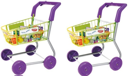 Casdon Shopping Trolley With Play Food £9.97 @ Tesco Direct