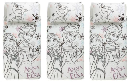 Disney Frozen Anna & Elsa Duvet Cover Set £14 @ Tesco Direct