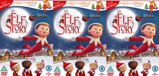 The Elf On The Shelf Presents An Elf's Story DVD £2.99 Delivered @ Argos