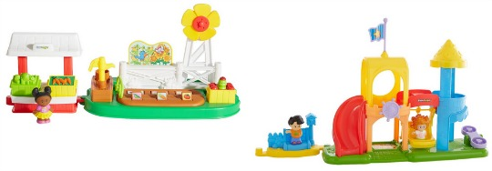 #Glitch Two Fisher Price Little People Sets For Just £14 @ Very