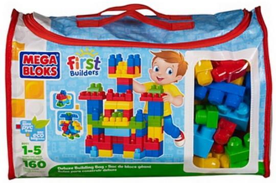 Mega Bloks First Builders Deluxe Building Bag £17 Amazon/Asda