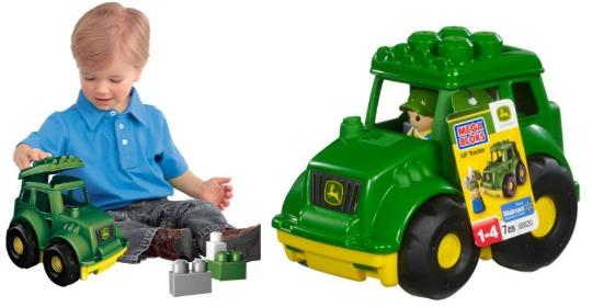 Mega Bloks Little Vehicles John Deere Tractor £5 Delivered @ Argos