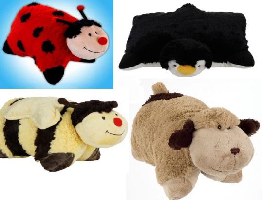 Selected Pillow Pets £7.50 @ Tesco Direct