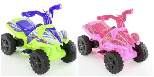 Roadsterz 6v Electric Ride-On Quad HALF PRICE (Was £70) @ Halfords With Free Delivery