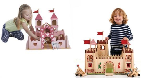 Medieval/Princess Wooden Castle £35 @ Wilko