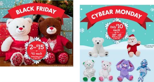 Want A Sneaky Peek @ Build A Bear Black Friday Deals?