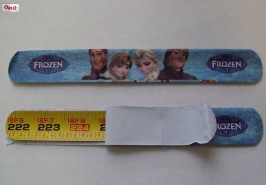 Safety Warning On Dangerous Disney Frozen Snap Bands