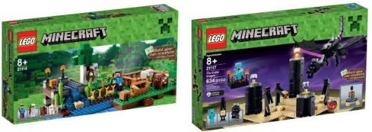 Reductions on Lego Minecraft Sets @ Argos