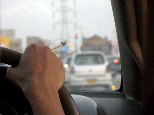 Ban Comes Into Force For Smoking In Cars Carrying Kids