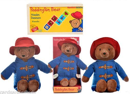 Paddington Bear Soft Toy & More From £5.99 @ eBay