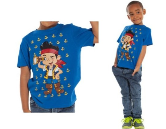 Jake And The Neverland Pirates Anchor T-Shirt £1.99 @ Argos