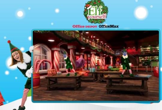 Free! Elf Yourself Christmas Video