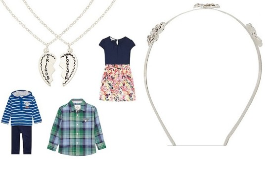 Kids Clothes & Accessories From £1.50  @ Debenhams