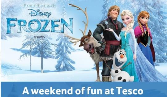 Free Disney Frozen Family Day @ Tesco