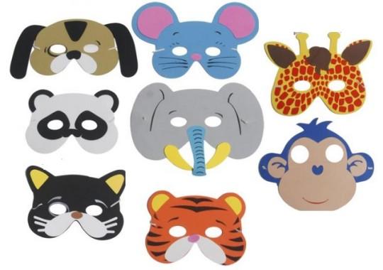 8 Animal Masks £1.96 Delivered @ eBay