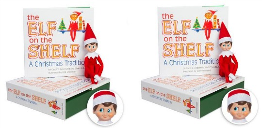 The Elf on the Shelf Boy Light Doll with Book £17.77 Delivered @ The Book Depository (Expired)