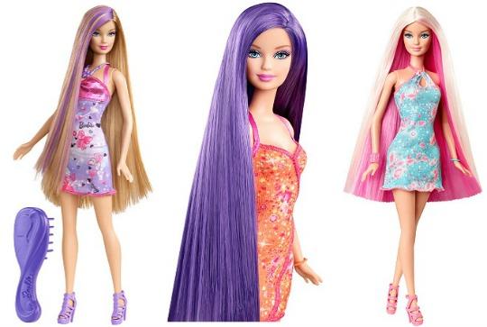 Barbie Hairtastic Doll £5.52 @ Argos