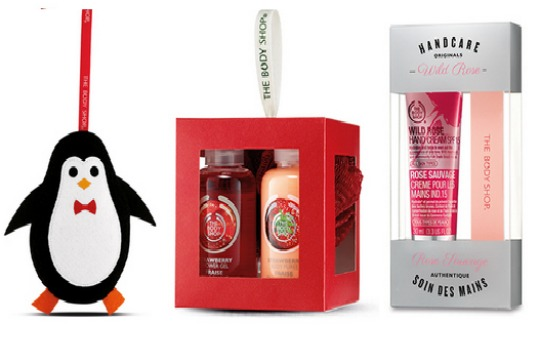 Stocking Fillers From £2 Plus FREE delivery When You Spend £5+ @ The Body Shop