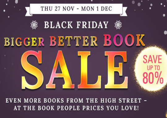 Black Friday 80% Off Sale and Free Delivery Over £10 @ The Book People
