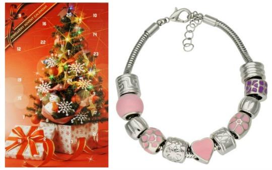 Bead & Charm Bracelet Advent Calendar £6.99 @ Argos