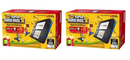 Cheap Nintendo 2DS including New Super Mario Bros 2 @ £89