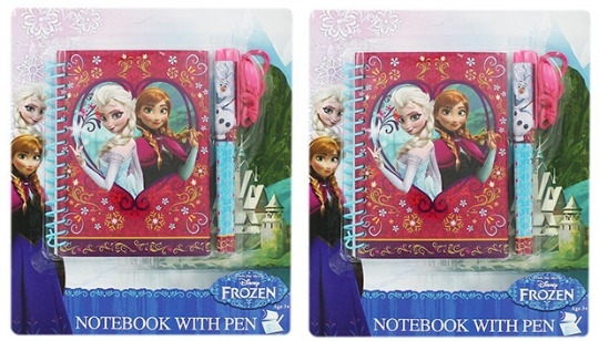 Disney Frozen Notepad & Pen £1 @ The Works