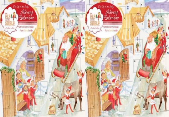The Elf On The Shelf Advent Calendar £7.01 Delivered @ Wordery