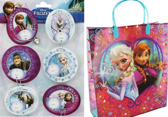 Disney Frozen Gift Wrap, Bags & Tags From 99p Delivered (With Code) @ The Works