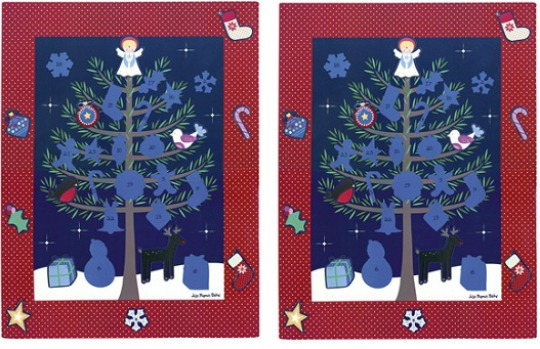 Magnetic Christmas Advent Calendar £3 @ JoJo Maman Bebe