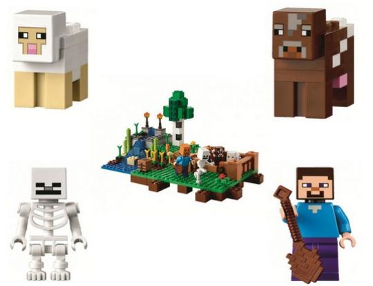 Lego Minecraft: The Farm £21.24 Delivered @ Amazon