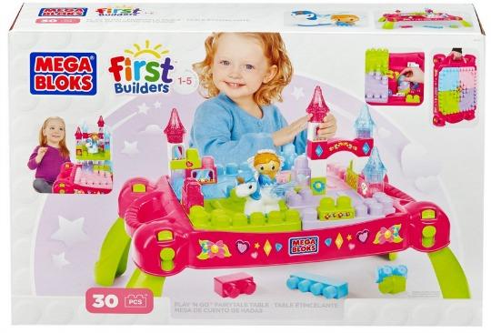 Mega Bloks Lil' Princess Play-n-Go Fairytale Table £19.99 @ Amazon