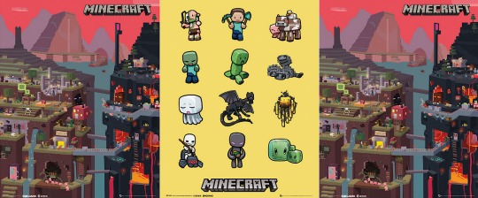 Minecraft Posters £1 @ The Entertainer