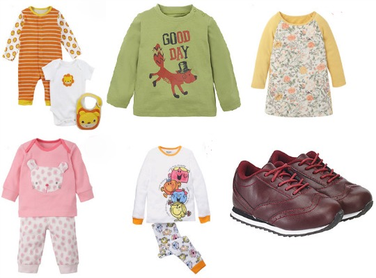 Children's Clothing Bargains @ Mothercare Outlet