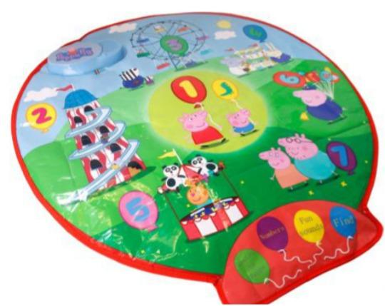 Peppa Pig Fairground Playmat £9.99 @ Argos